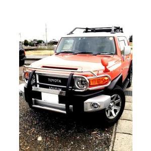 送料込 新商品 トヨタ FJクルーザー 07y- フロント グリルガード|auto-parts-jp