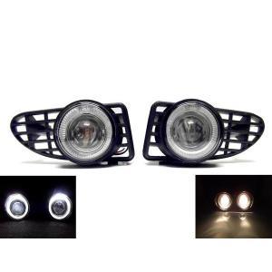 送料込 PTクルーザー LEDイカリングプロジェクターフォグランプ|auto-parts-jp