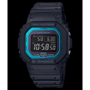 6a4c5fc1df Gショック GW-B5600-2JF CASIO G-SHOCK カシオ ブラック ブルー Bluetooth スマートフォン ...