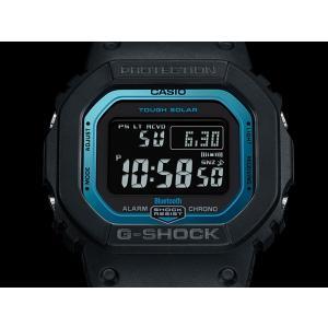 61d680b7f1 ... Gショック GW-B5600-2JF CASIO G-SHOCK カシオ ブラック ブルー Bluetooth スマートフォン ...