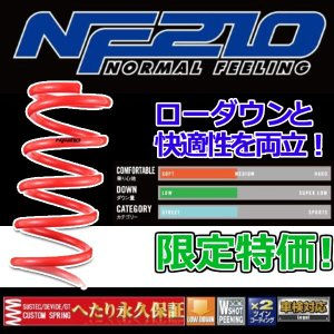 タナベ NF210 アルトラパン HE22S(2WD)用ダウンサス 新品 メーカー正規販売品|autoaddictionjapan