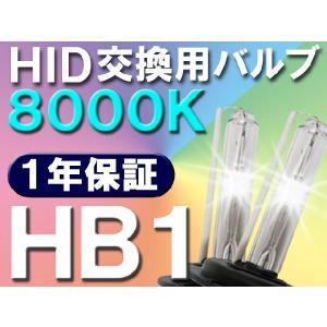 HID交換用バルブ / HB1 / 8000K / 2個セット / 1年保証 / 25W-35W-55W対応 / 12V|autoagency