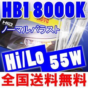 HIDフルキット / HB1 HI/LO切替式 / 8000K / 55W 厚型バラスト/ 防水加工 / 保証付き|autoagency
