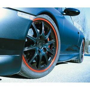 ホイールテープ / リム用テープ / (レッド/赤) / 車1台分|autoagency