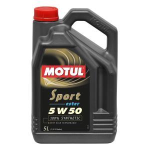MOTUL エンジンオイル スポーツ 5W50 SM/CF 5L