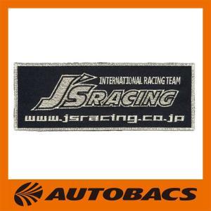 J'S RACING レーシングワッペン ブラック 小サイズ RW-BL-S|autobacs