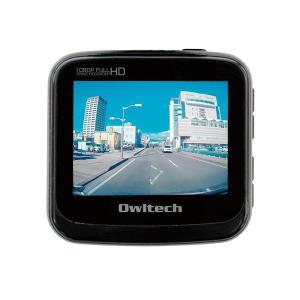 オウルテック ドライブレコーダー OWL-DR04-BK ブ...