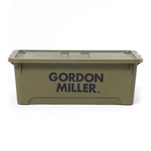 GORDON MILLER(ゴードン ミラー) スタッキングストレージボックス L オリーブドラブ