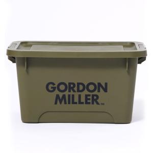 GORDON MILLER(ゴードン ミラー) スタッキングストレージボックス M オリーブドラブ