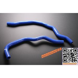 シリコンラジエーターホース ホンダ S2000 AP1 F20C 青|autobahn88