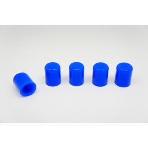 シリコンホース バキュームラインキャップ内径4mm 5個 青|autobahn88