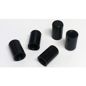 シリコンホース バキュームラインキャップ内径8mm 5個 黒|autobahn88