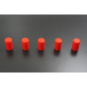 シリコンホース バキュームラインキャップ内径6mm 5個 赤|autobahn88
