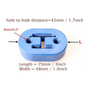 汎用タイプ 8mm 2ホール 強化マフラーハンガー 可調整吊りゴム|autobahn88