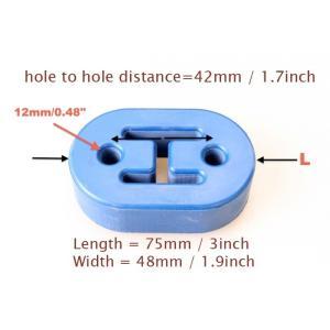 汎用タイプ 12mm 2ホール 強化マフラーハンガー 可調整吊りゴム|autobahn88