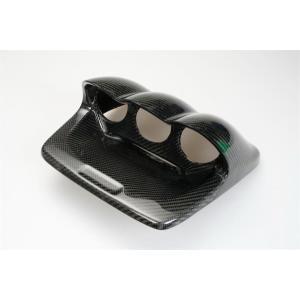 カーボンメーターパネル ゲージパネル  60mm 3連 スバル インプレッサ WRX GDF/GDG  EJ20 EJ25|autobahn88