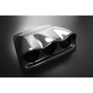 カーボン製 60mm 3連メーターゲージパネル Subaru Impreza WRX STi GC8 EJ20 96-00|autobahn88