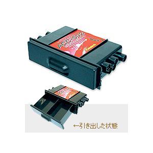 カナック ACC-502 汎用1DINポケット(フラップ付)|autocenter