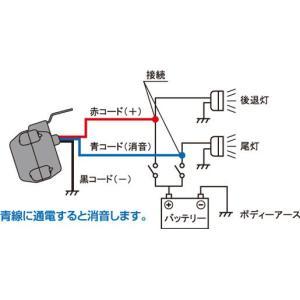 ミツバサンコーワ 消音機能付きバックブザー RH-10|autocenter|03