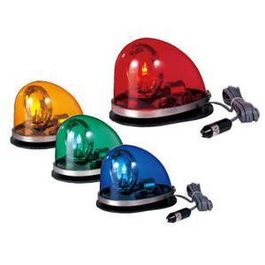 パトライト HKFM-102G-R グローブ色:赤色 / 電圧:24V ゴムマグネット 流線型回転灯|autocenter