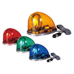 パトライト HKFM-102-Y  グローブ色:黄色/電源:DC24V マグネット付き 流線型回転灯|autocenter