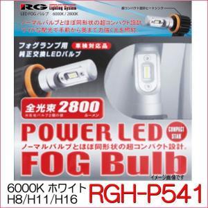 RG LEDフォグバルブ コンパクトスター 品番:RGH-P541(バルブタイプ:H8/H11/H16兼用) 6000K ホワイト|autocenter