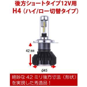 RG レーシングギア LEDヘッドライトバルブ 品番:RGH-P766 後方ショートタイプ 12V用(バルブタイプ:H4切替)5500K|autocenter|02