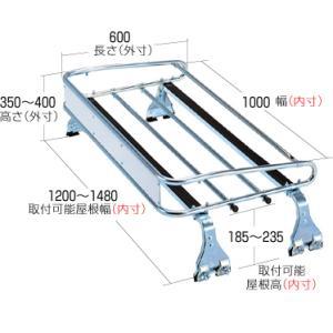 ROCKY+(ロッキー) STR−600 トラック用ルーフキャリア/横山製作所/(代引不可)|autocenter