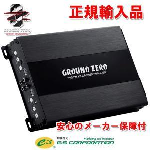 正規輸入品 GROUND ZERO 4chパワーアンプ GZIA 4115HPX-II