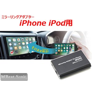 Beat Sonic  Apple社製iPhone、iPod Touch、iPad用のミラーリングア...