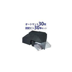 オートマット 30枚 + 固定ピン 30本 セット 多目的簡易舗装マット|automat-prestige