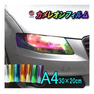 ヘッドライトフィルム (A4) 浅黒 幅30cm×20cm A4サイズ ライトブラック カラーフィルム レンズフィルム 保護プロテクションフィルム アイラインフィルム|automaxizumi