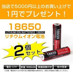 18650リチウムイオン電池 6000mAh×2本 充電池 バッテリー!合計5000円以上のお買い上げの方のみ、一円でプレゼントをGET!!単品でのご注文はできません。|autoone