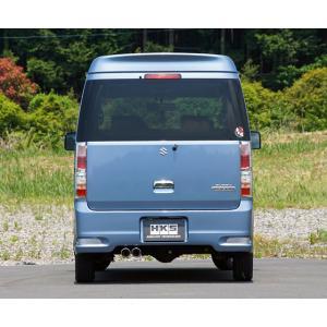 自動車関連業者直送限定!HKS リーガル マフラー SUZUKI スズキ エブリィワゴン DA64W K6A(TURBO) 05/08-15/02 (31013-AS014) ※個人宅への発送不可。 autopartsnet