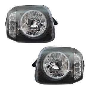 ★13131 スズキ JB23 ジムニー CCFL リング 付き LED ウィンカー ヘッド ライト...