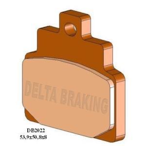 DELTA(デルタ) ブレーキパッド  アプリリア Scarabeo100/Habana125/レオナルド125 フロント 1セット(2枚組) autopartsys