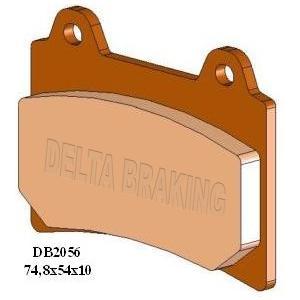 DELTA(デルタ) ブレーキパッド TDR250/TZR/SRX/XJR1200/ 1セット(2枚組) autopartsys
