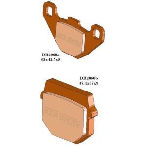 DELTA(デルタ) ブレーキパッド KX50/KX100/KDX125/KMX200/AR50/AR80 1セット(2枚組) autopartsys
