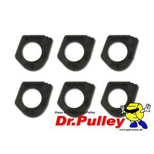Dr.Pulley ドクタープーリー NEWTYPE 変形型 20×12 YAMAHAサイズ 6個入り|autopartsys
