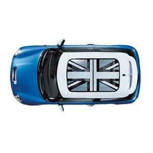 ミニ純正品・MINI Cooper Hardtop ミニクーパー サンルーフ グラフィック ブラックジャック ステッカー (デカール)