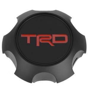 USトヨタ 直輸入純正品 TOYOTA TRD 17インチホイール専用 センターキャップ ブラック