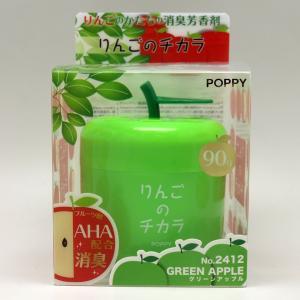 ダイヤケミカル 芳香剤 消臭剤 りんご ゲルタイプ グリーンアップル 90g 消臭芳香剤 2412|autorule