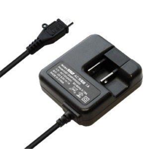 AC充電器 ストレート1m 1A micro BK スマートフォン 家庭用 100V〜240V対応 海外仕様可能 ブラック カシムラ AJ-442 autorule