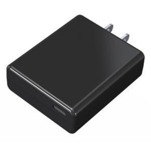 AC充電器C 1ポート 3A BK  ACコンセント USB ブラック 海外使用可 Type-C ハイパワー AC充電器ポート ブラック カシムラ AJ-500 autorule
