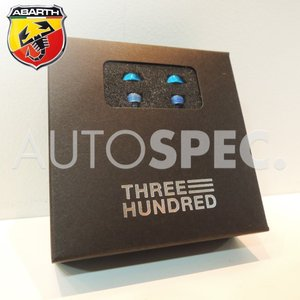 ABARTH フューエルリッド チタン ビス ボルト 青 ブルー アバルト 500 595 695 THREEHUNDRED autospecy-store