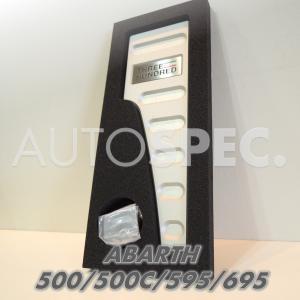 ABARTH 500 595 695 500C アルミ フットレスト THREEHUNDRED アバルト RH 右ハンドル autospecy-store