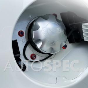 ABARTH フューエルリッド チタンビス ボルト 赤 【Newリリース】 レッド アバルト 500 595 695 THREEHUNDRED autospecy-store