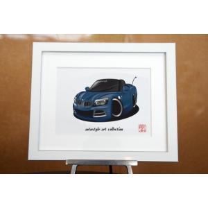 クルマアートコレクション AutoStyle Art Collection BMW BMW Z4  ディープシーブルー
