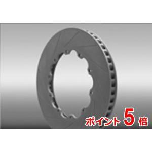 DIXCEL GT-R R35 2ピースローター フロント FP/FS Type MY07 外径:380 x 厚み:34 CURVE SLIT-12 (FS Type)