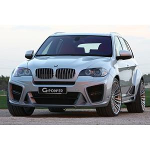 G-POWER BMW X5 TYPHOON ステンレスリアマフラー TYPHOON BODY KIT専用 X5 114φ×2